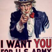 I want You US Army Poster