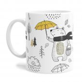 Autumn Bear Tea Coffee Mug