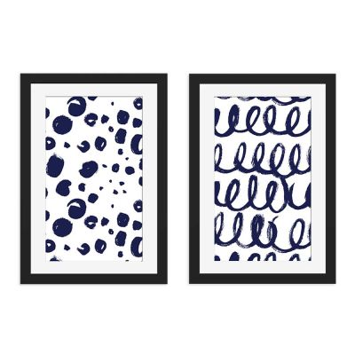 Happy Days Framed Wall Art Print Set