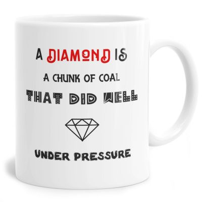Chunk Of Coal Under Pressure Mug