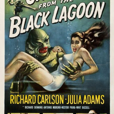 Creature From The Black Lagoon Film Poster