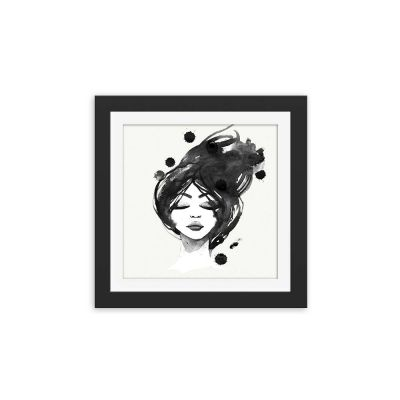 Sweet Dreams Black Framed Wall Art Print