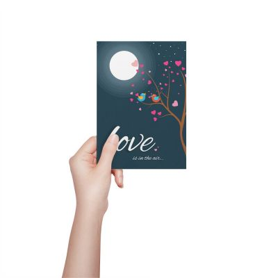 Love Is In The Air Valentines Card