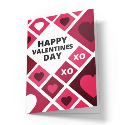 Love Grid Valentines Card