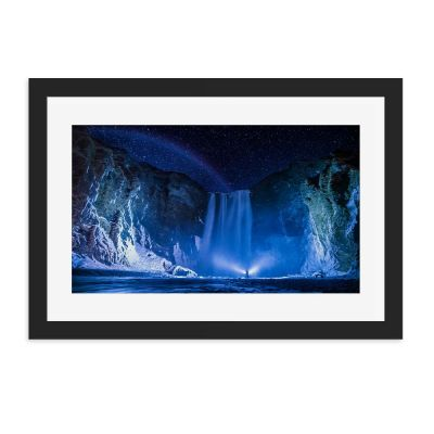 Midnight Blue Wall Art Print