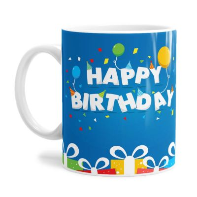 Party Time Birthday Tea Coffee Mug