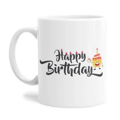 Cupcake Birthday Tea Coffee Mug