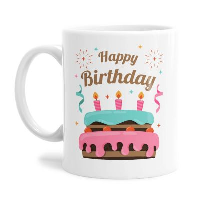 Cool Cake Birthday Tea Coffee Mug