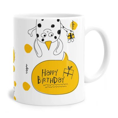 Doodle Two Birthday Tea Coffee Mug
