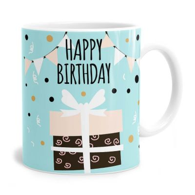 Present Birthday Tea Coffee Mug