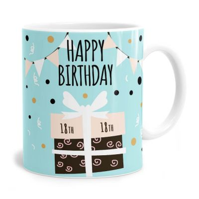 Present 18th Birthday Tea Coffee Mug