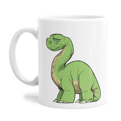 Dippy Dino Tea Coffee Mug