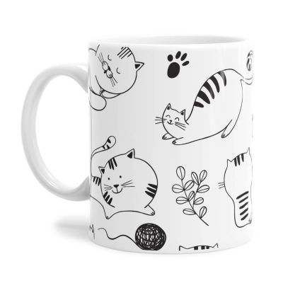 Cat Lover Tea Coffee Mug