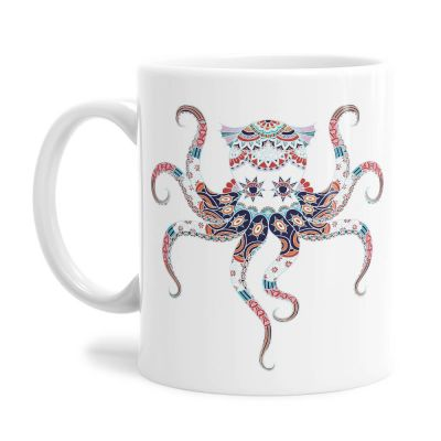 Octo Pattern Tea Coffee Mug