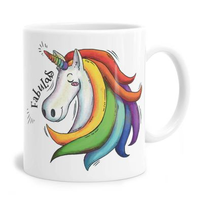 Fabulas Unicorn Tea Coffee Mug