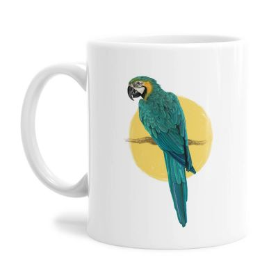 Parrot Tea Coffee Mug