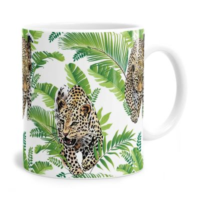 Jungle Leopard Tea Coffee Mug