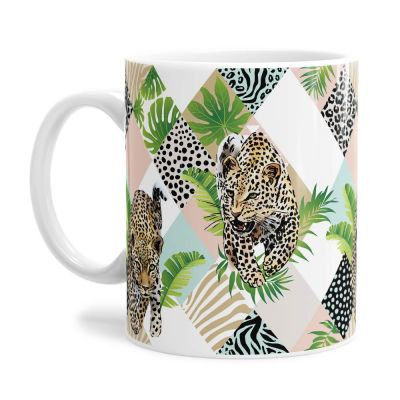 Pattern Jungle Leopard Tea Coffee Mug