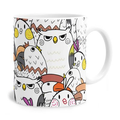 Bird Party Tea Coffee Mug