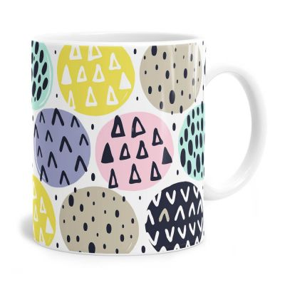Circle Doodles Tea Coffee Mug