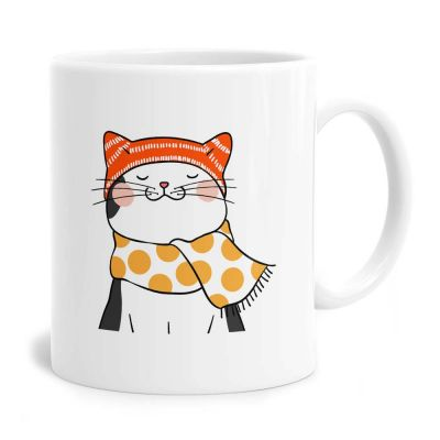 Cozy Cat Tea Coffee Mug