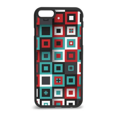 Micro Square Pattern iPhone 7 & 8 Case