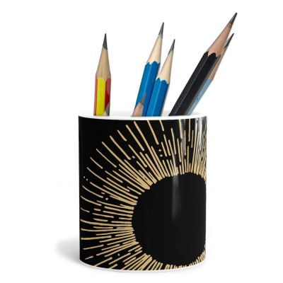 Rays Of Light Patterns Pencil Pot