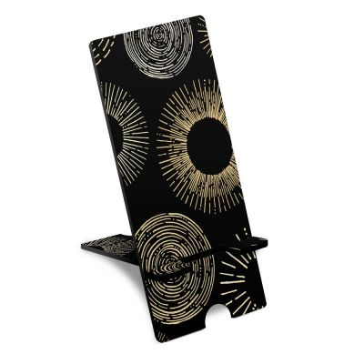Rays Of Light Patterns Phone Stand