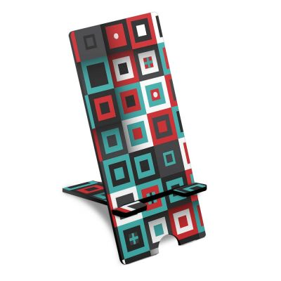 Micro Square Pattern Phone Stand