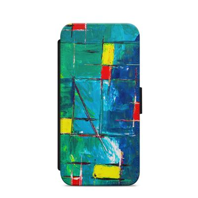 Holiday Abstract iPhone Wallet Case