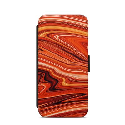 Red Rush iPhone Wallet Case
