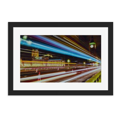 London Big Ben Buzz Wall Art Print