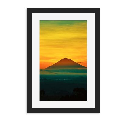 Pyramid Future Past Wall Art Print
