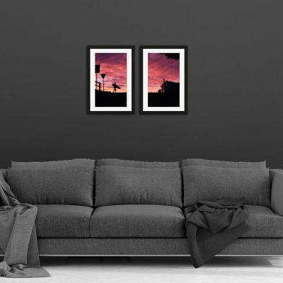 A Surf Dream Framed Print Set